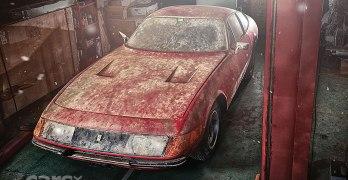 One-off Aluminium-bodied Ferrari Daytona BARN FIND up for grabs
