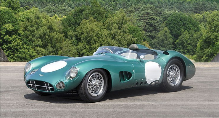 1956 Aston Martin DBR1 sells for £17.5 MILLION