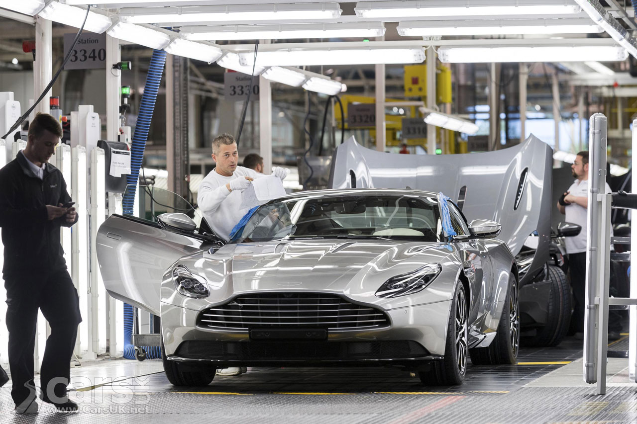 Aston Martin is definitely emerging from its bad economic past