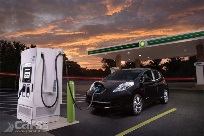 BP planning EV charging on UK forecourts