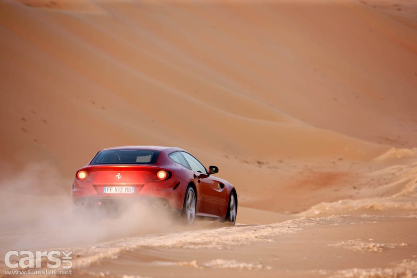 The Ferrari FF - Ferrari's 'almost' SUV. But now there will be a real Ferrari SUV