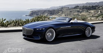 The Vision Mercedes-Maybach 6 Cabriolet is an Electric Land Yacht. And it's…STUNNING
