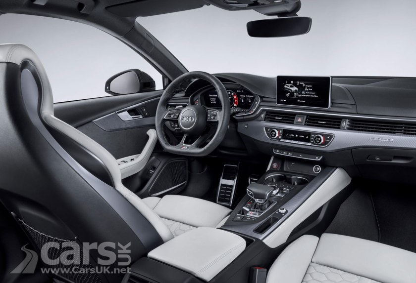 2018 Audi RS4 Avant Interior
