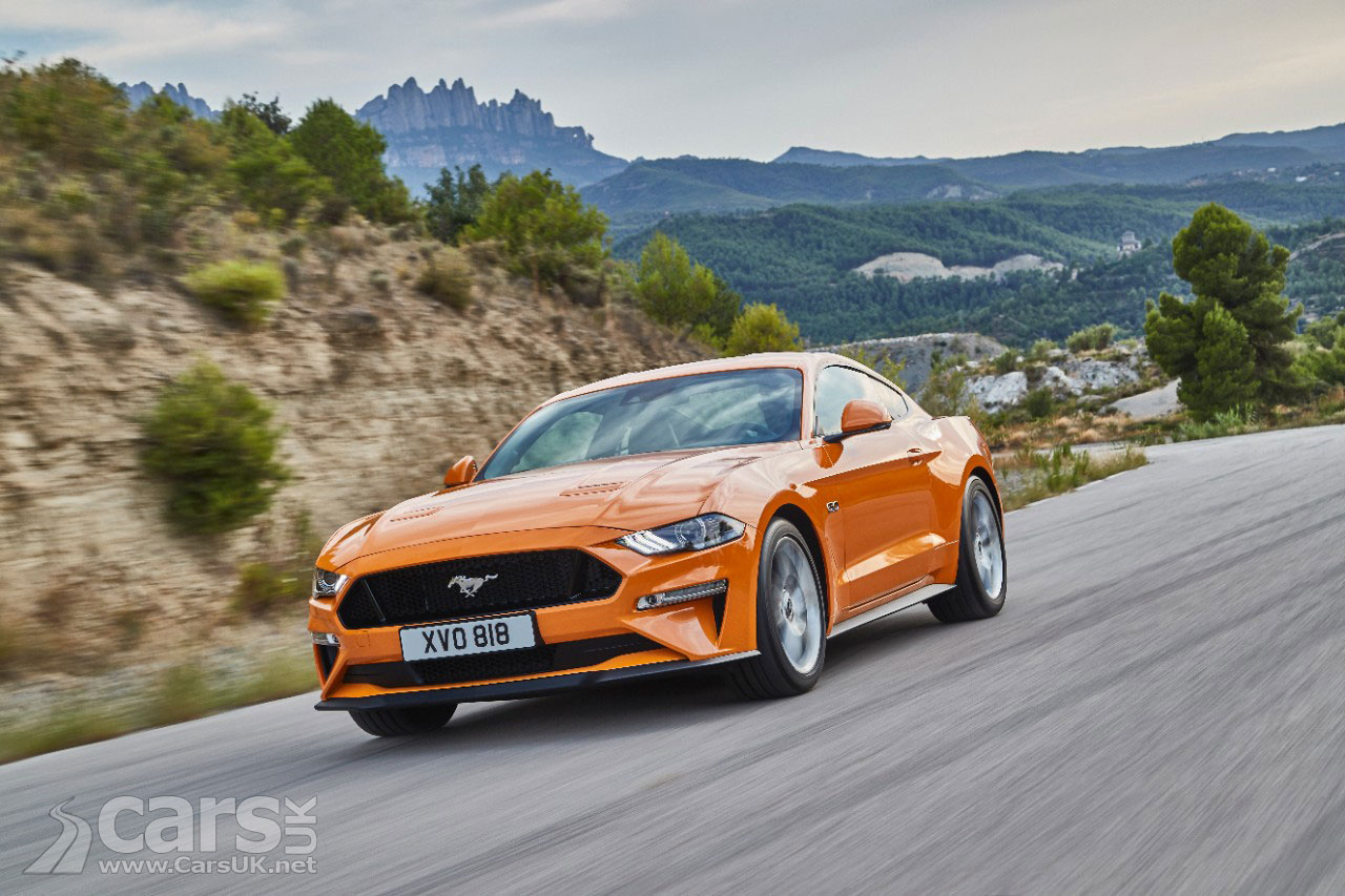 Ford Mustang updated for 2018 with MORE power - and LESS