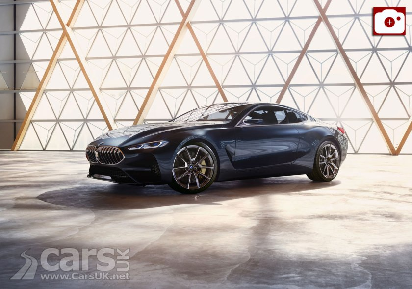 BMW 8 Series CONFIRMED For Production In 2018