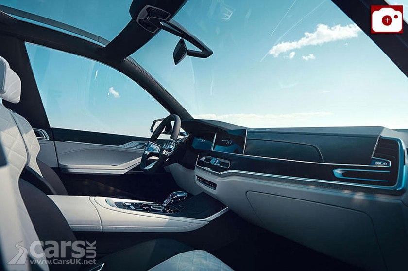BMW X7 Concept Interior