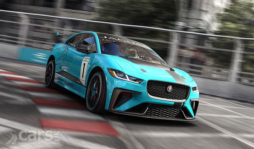 Jaguar i-Pace isn't just an electric SUV. It's a RACE car too.