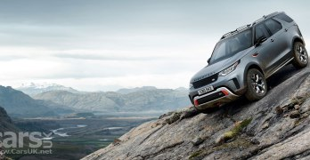 Land Rover Discovery SVX brings V8 POWER and added butch to the new Discovery (video)