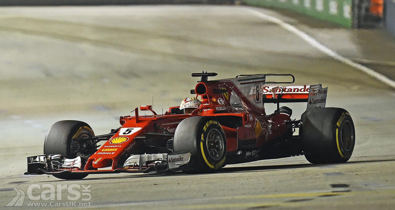 Stevenage's Lewis Hamilton in practice for F1 Singapore Grand Prix