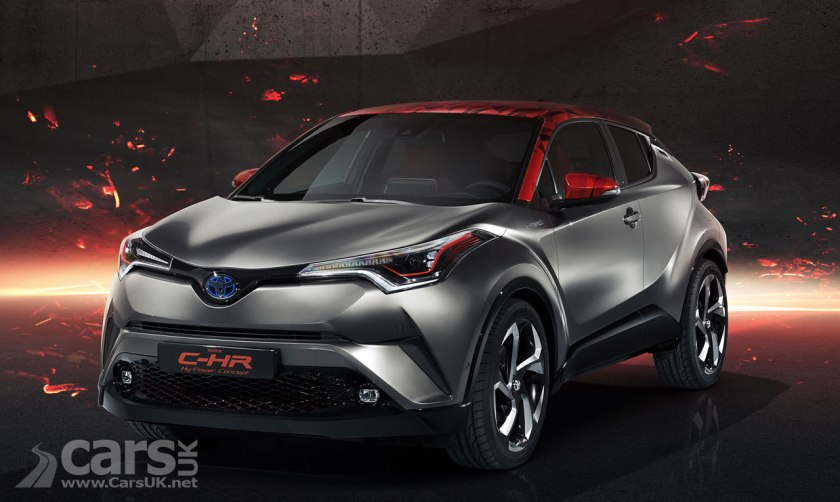Toyota C-HR Hy-Power Concept gets clever cosmetics and the promise of more power