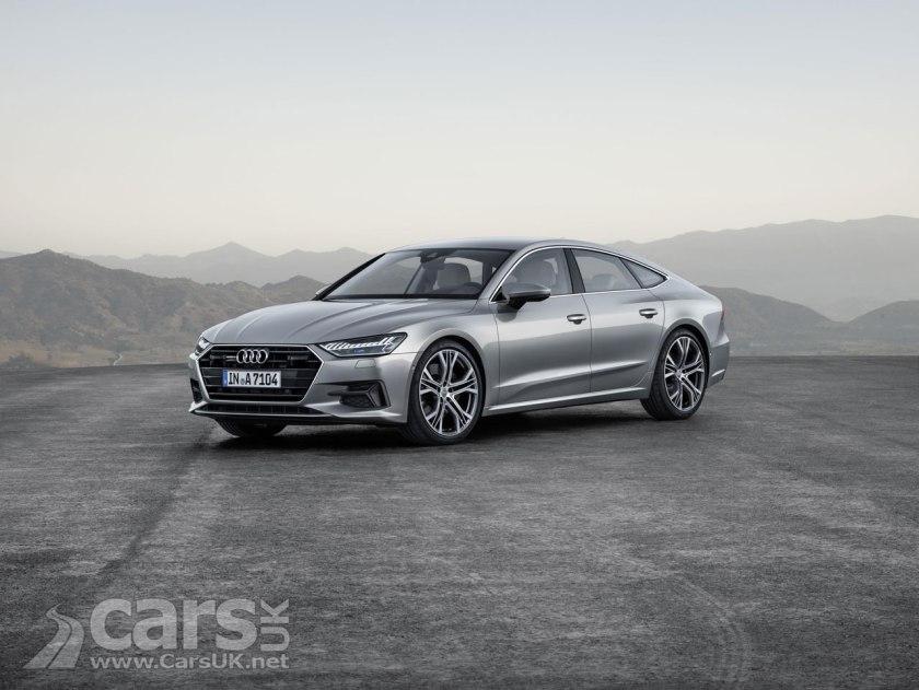 2018 Audi A7 Sportback Front View