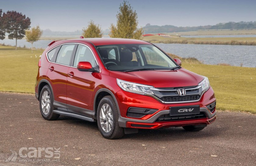 Honda CR-V S Plus Special Edition offers £1500 of extra FREE goodies, say Honda