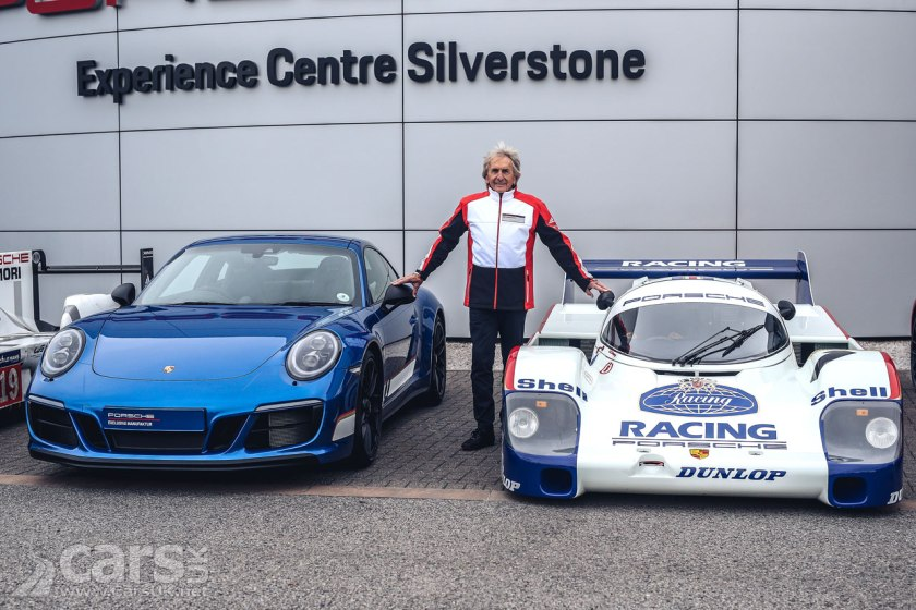Porsche 911 Carrera 4 GTS British Legends Edition (Derek Bell pictured)
