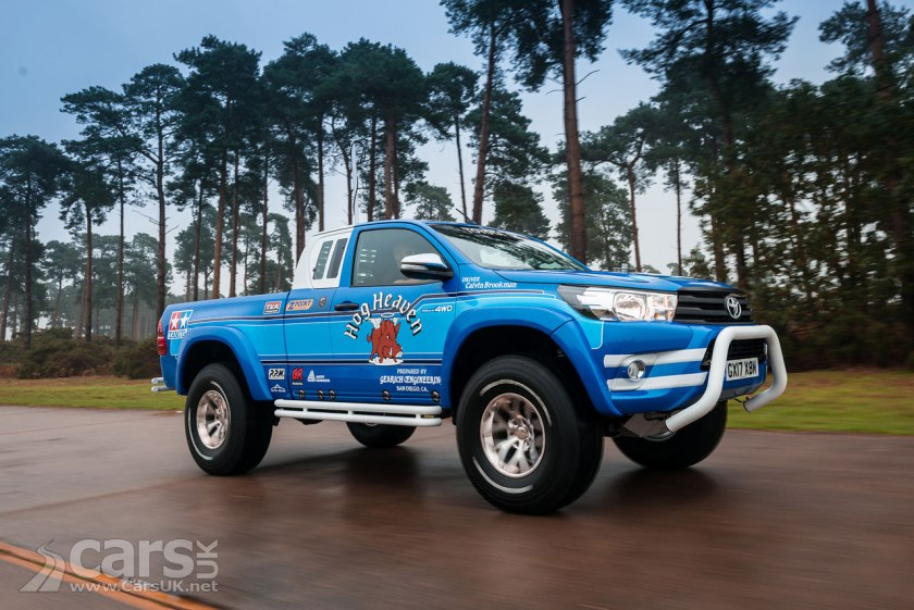 Toyota Hilux Bruiser is a TOY Hilux brought to life