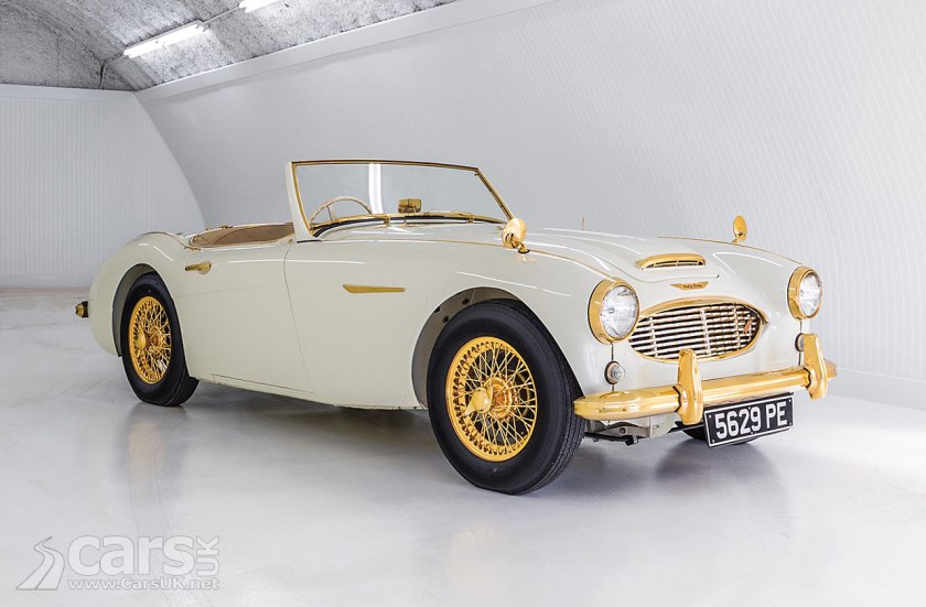 GOLD-PLATED 1958 Austin-Healey 100-Six up For Sale