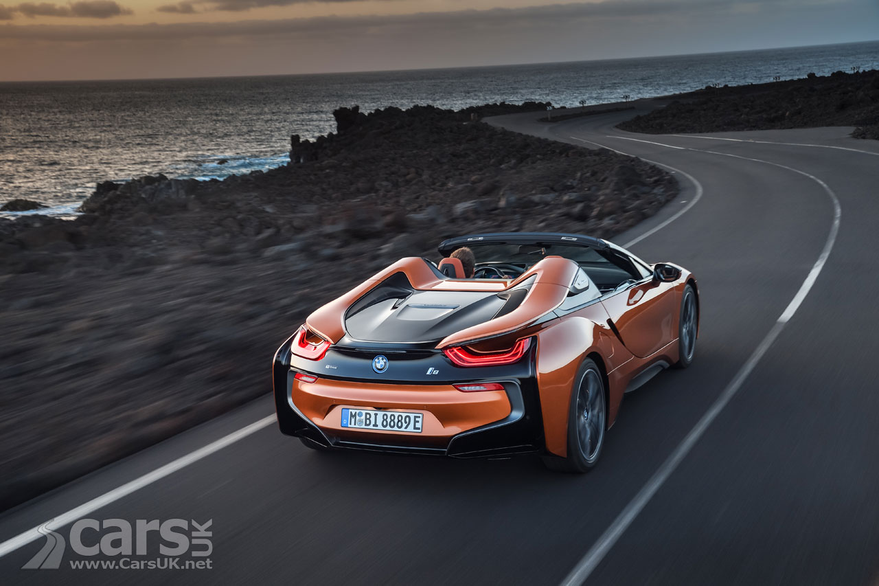 BMW i8 Roadster 2018 - hybrid sports auto  gets even more appeal
