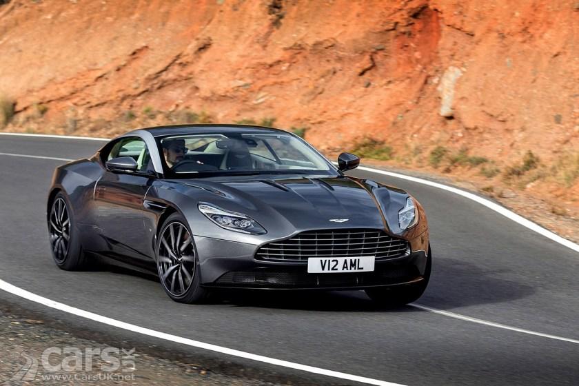 Aston Martin DB11 Golden Steering Wheel Award winner in 2017 for the Most Beautiful Car