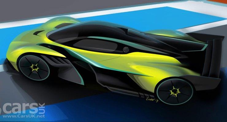 Aston Martin Valkyrie AMR Pro REVEALED