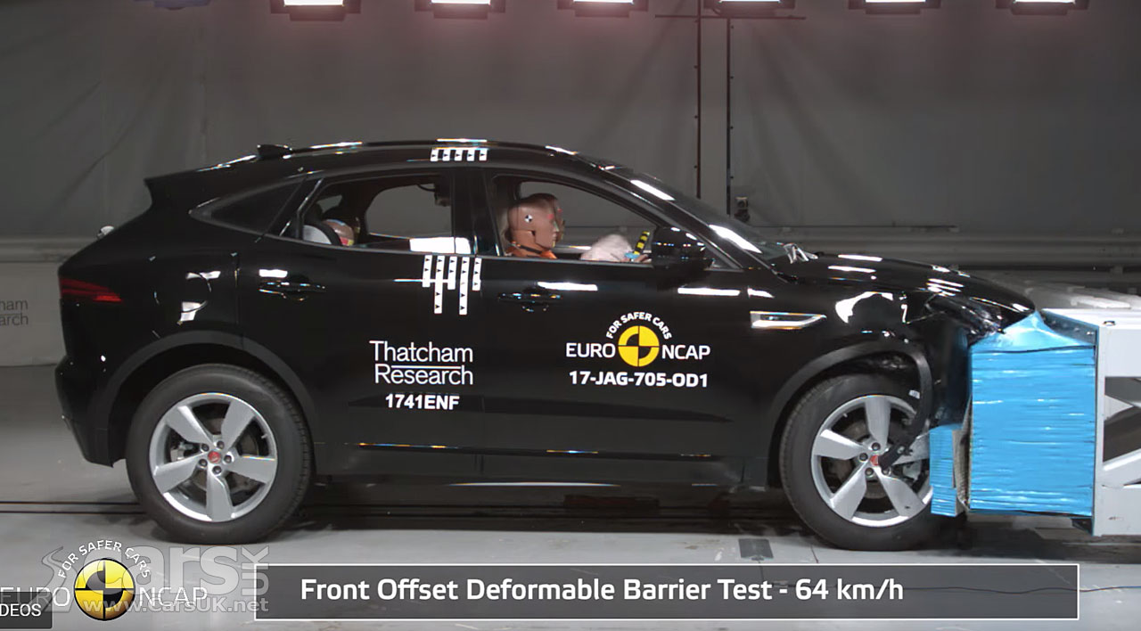 Crash test cars earn five-star ratings