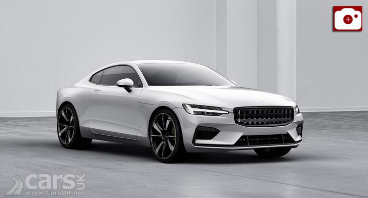 The POlestar 1 (pictured) will be followed by the Polestar 2 aimed at the heart of Tesla's Model 3