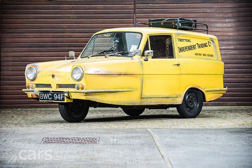 Del Boy's Reliant Three-Wheeler sells for £42,000