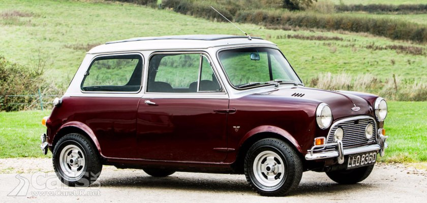 Ringo Starr's Mini Cooper S Radford - now owned by a Spice Girl