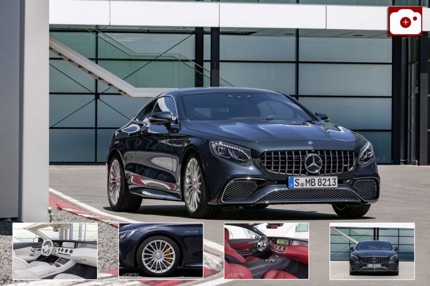 2018 Mercedes S-Class Coupe and Cabriolet Photos