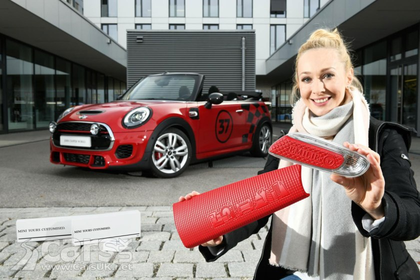MINI to offer 3D Printed accessories