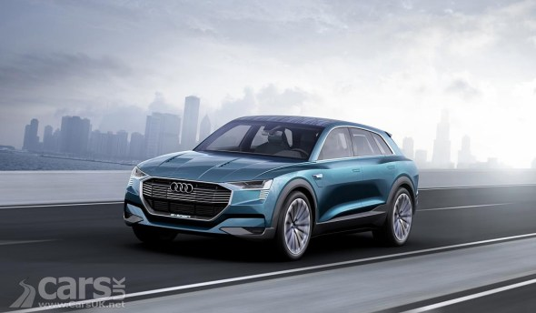 Audi e-tron electric SUV goes on sale in more European markets (e-tron Concept pictured)