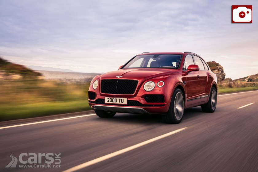 The Bentley Bentayga V8 arrives