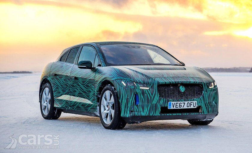 Jaguar i-Pace EV will charge to 80% in 45 minutes