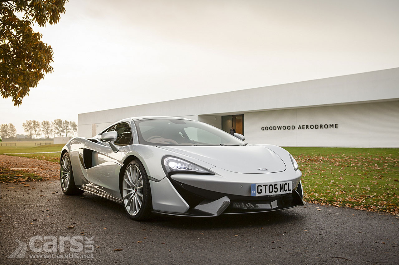 McLaren 570GT Sport Pack brings performance upgrades to firm's most practical supercar