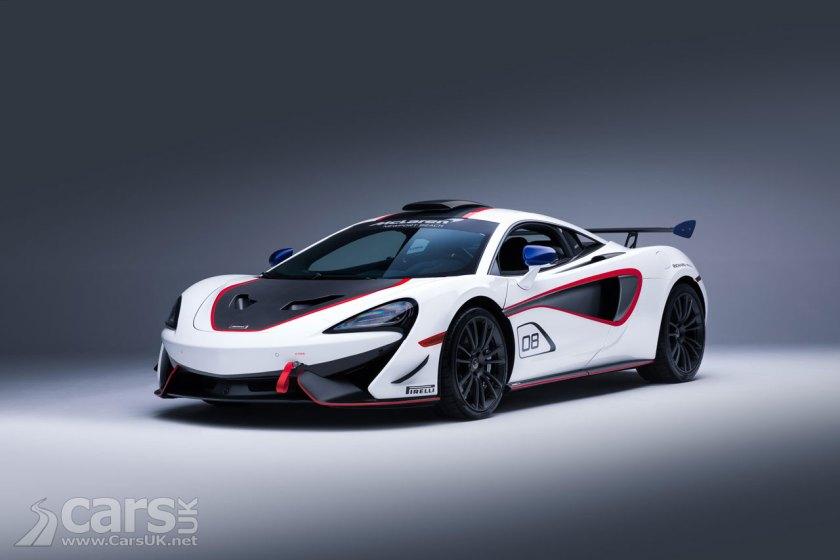 McLaren MSO X in white