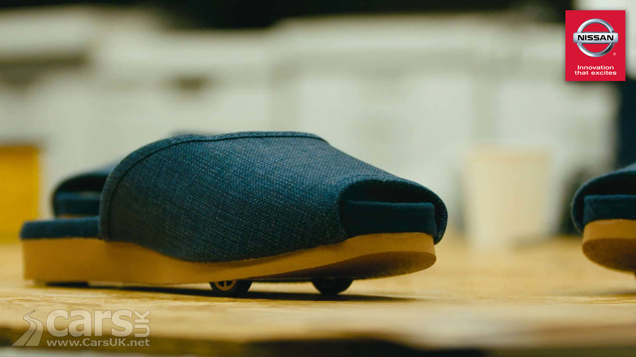 Japanese Inn Introduces 'Self-Parking Slippers' From Nissan
