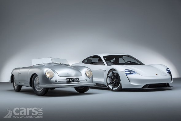 Past and Future Porsche - the Porsche 356 and Mission E