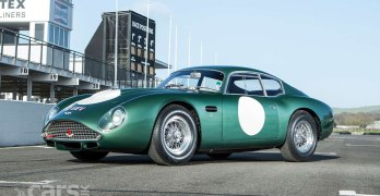 1961 Aston Martin DB4GT Zagato – CRASHED by Jim Clark – set to make more than £15 million