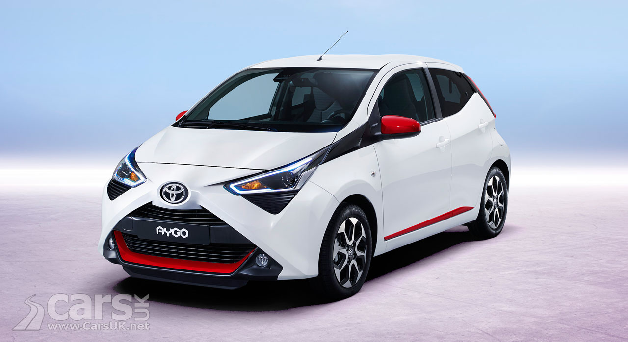 Toyota Aygo Facelift boosts the 'X' and adds refinement