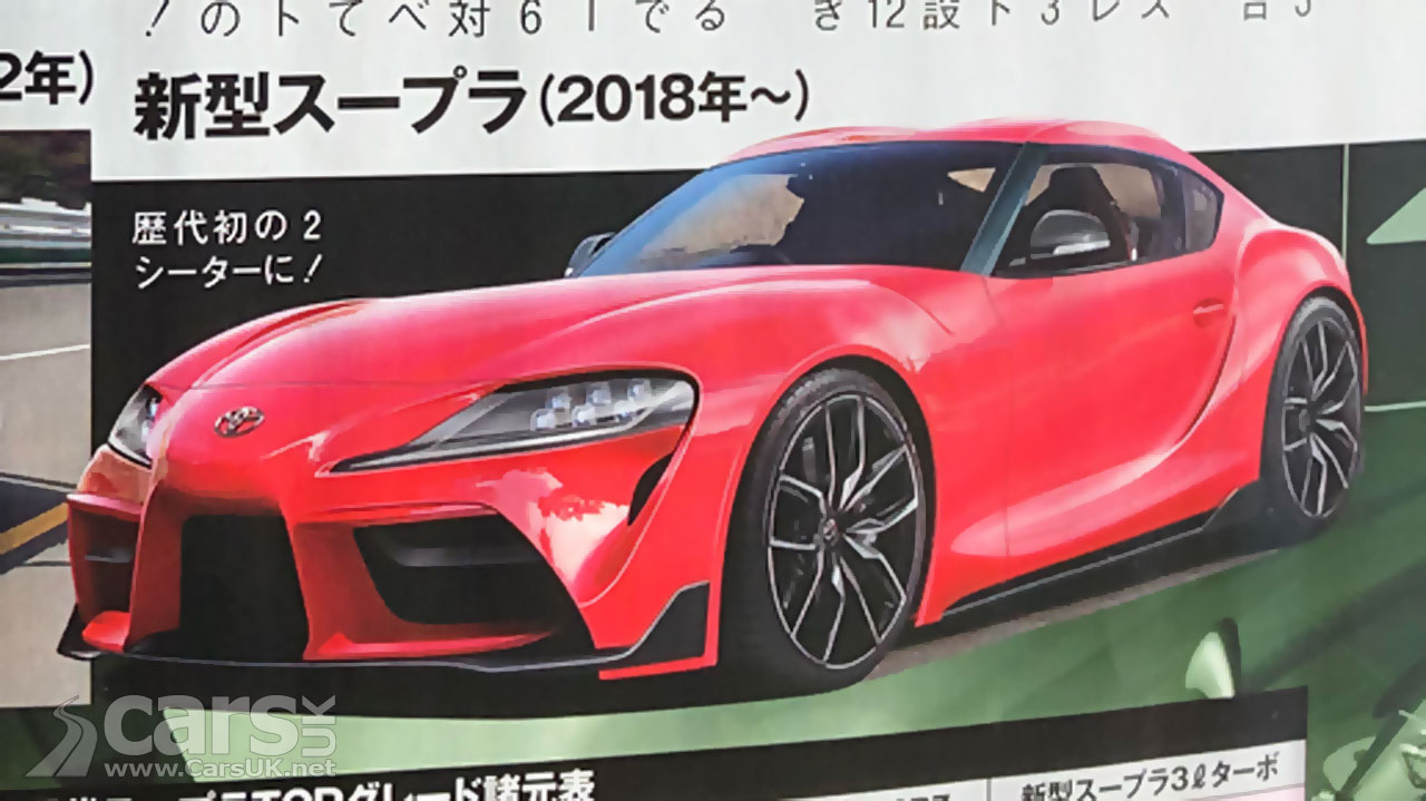 Toyota is one step closer unveiling the new Supra