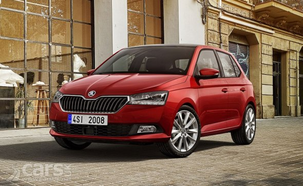 Skoda Fabia gets a bit of a facelift for 2018