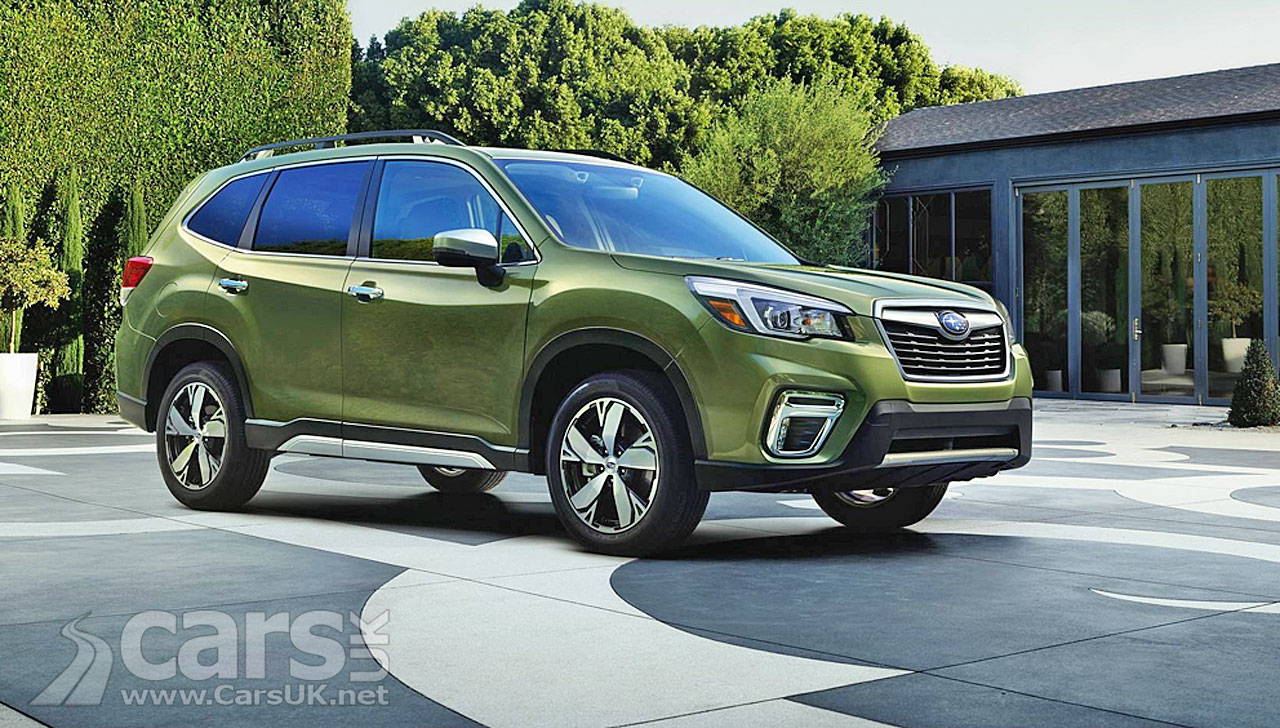 Subaru Forester: the crossover SUV that watches you