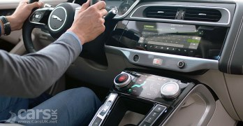 Jaguar i-Pace in-car technology highlighted on video