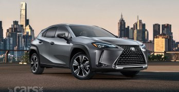 New Lexus UX SUV gets new engines and new Direct Shift-CVT