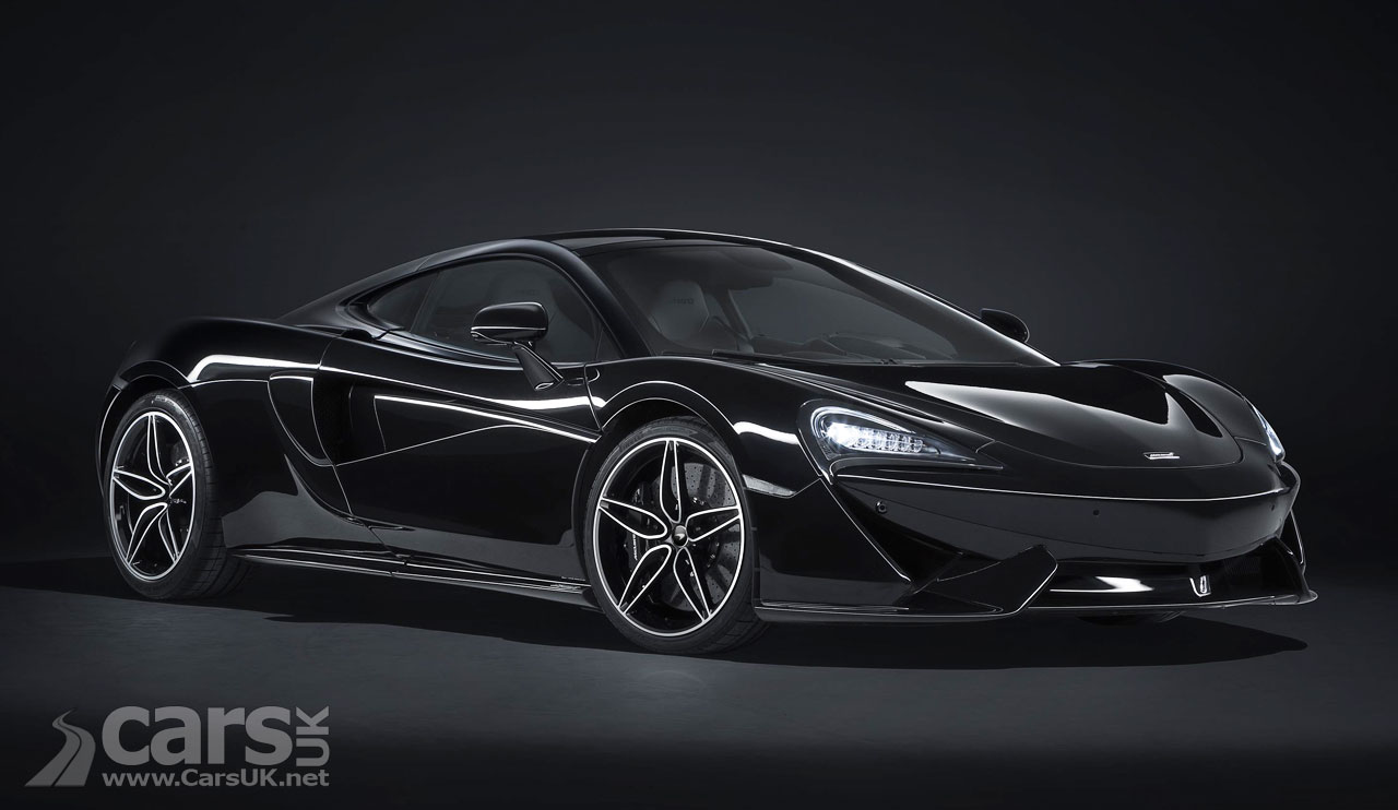 McLaren shows stealthy 570GT Black Collection
