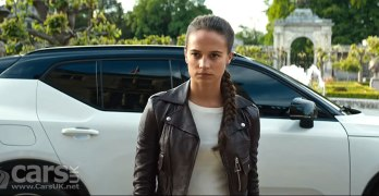 Volvo XC40 – the PERFECT car for Lara Croft (+ video)