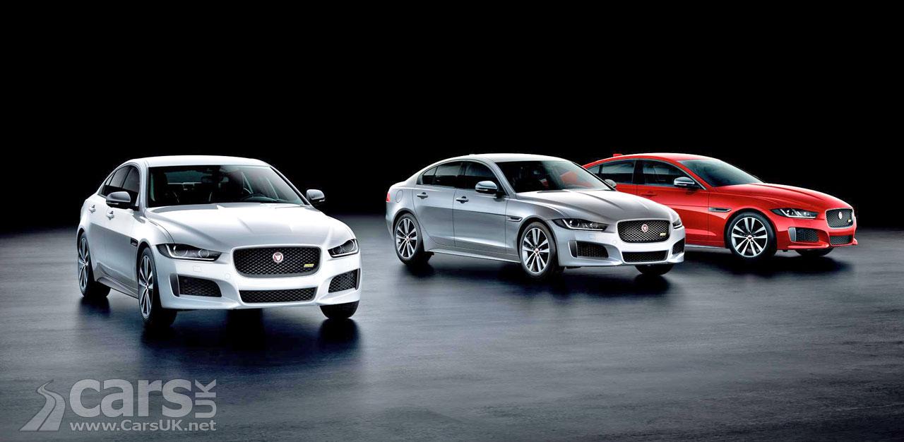 Jaguar XE, XF And XF Sportbrake 300 SPORT Models
