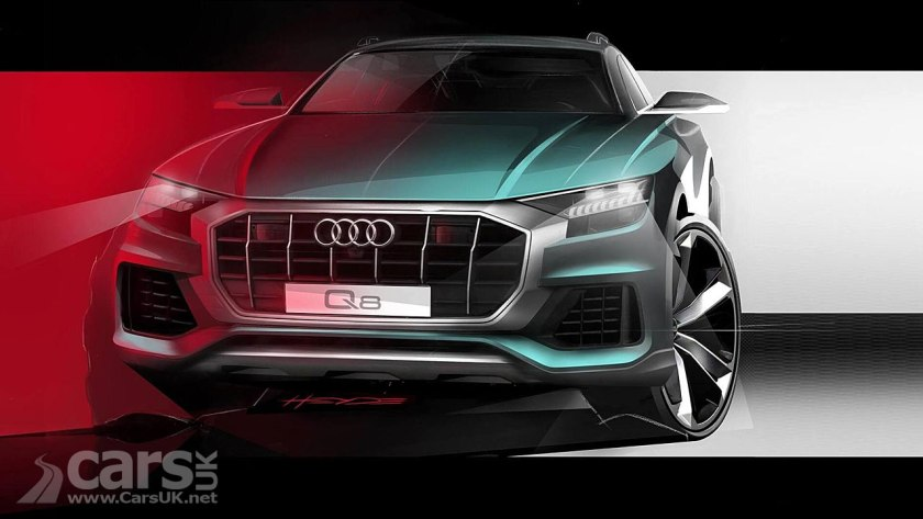 New Audi Q8 Still Being Teased But Not For Much Longer Cars Uk