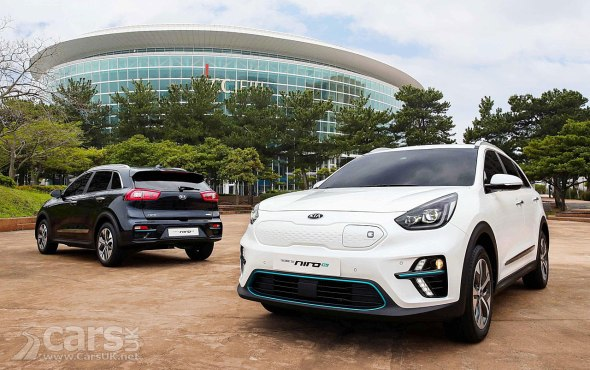 Kia Niro EV revealed in production guise