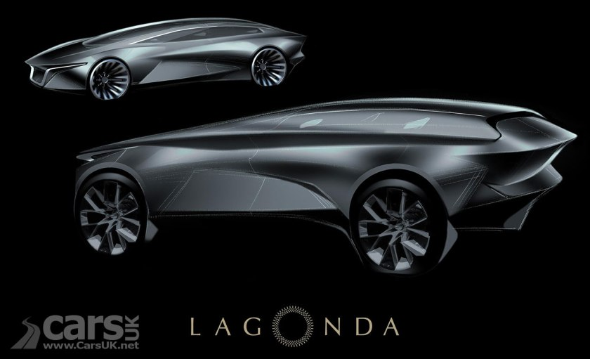 Aston Martin S First New Lagonda Will Be An Electric Suv In 2021