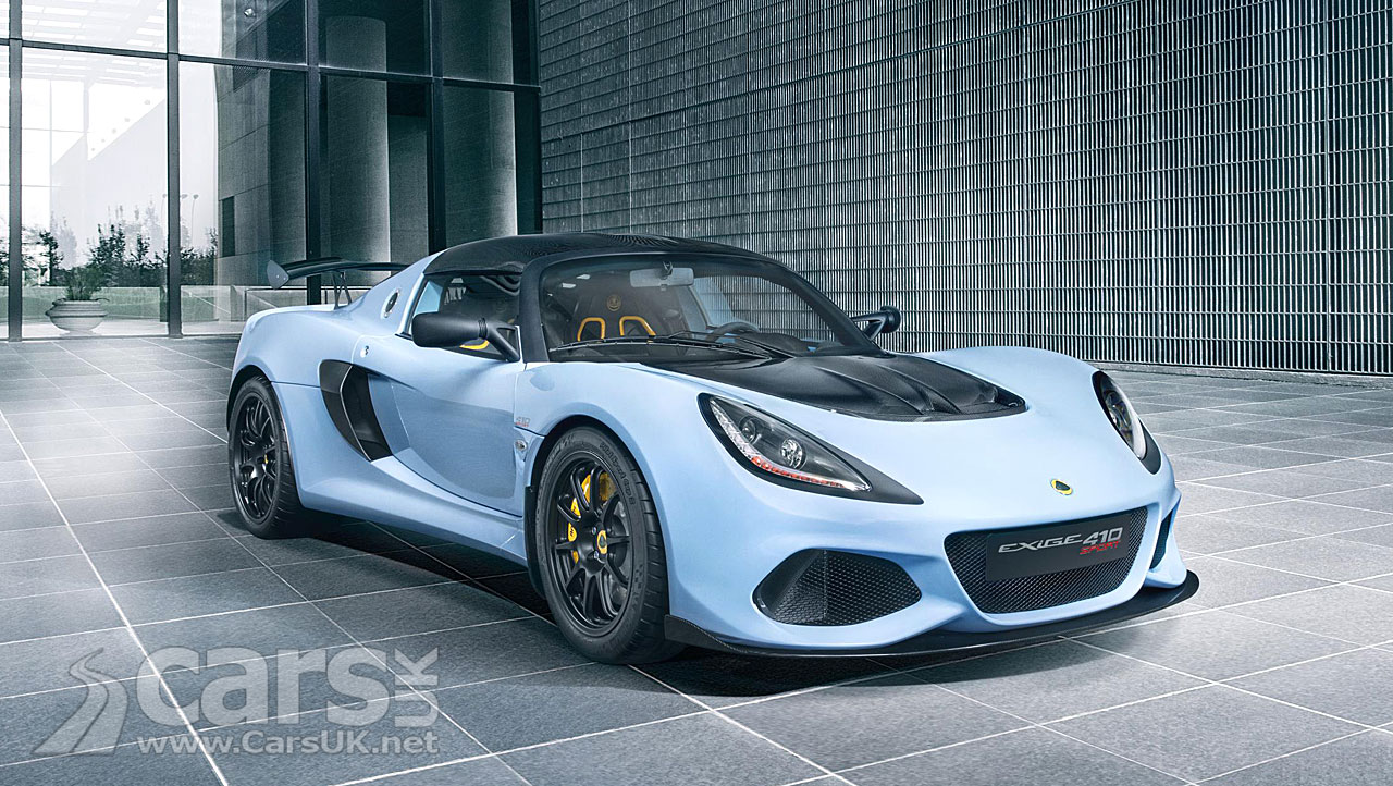 Lotus Exige Sport 410 Rockets From 0-60 MPH In 3.3 Seconds