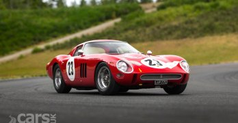Ferrari 250 GTO, chassis 3413 GT, up for auction with £34 MILLION estimate